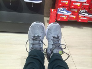 I chose these because they went with my outfit!