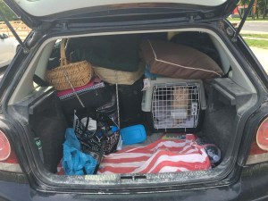 Our little polo packed full...only a tiny space left for Jpeg