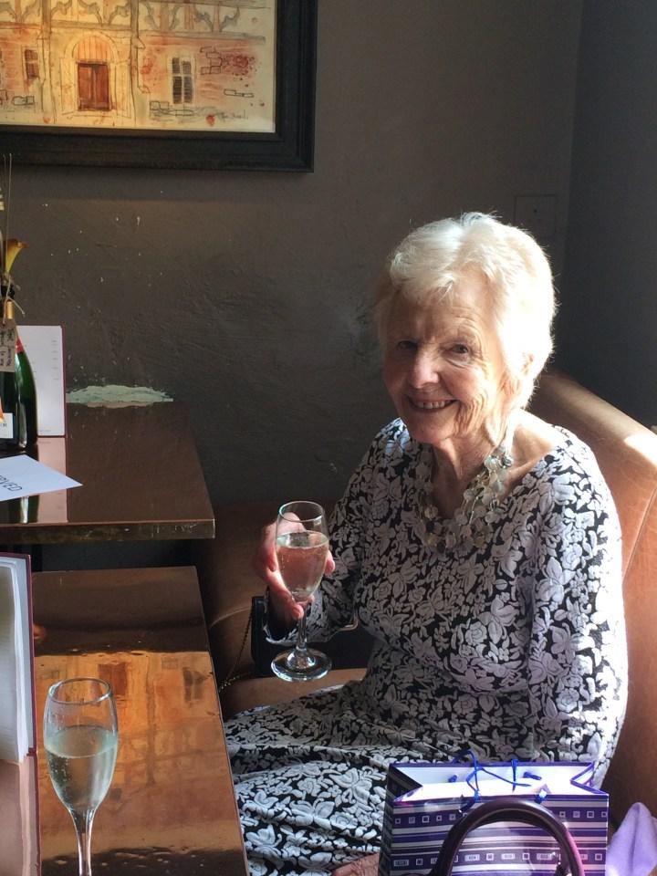 Grannie at 90th