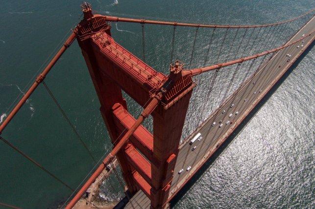 San Francisco è mozzafiato da qualsiasi prospettiva, ma questa decisamente le batte tutte!
