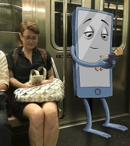 artist-adds-monsters-next-to-strangers-on-the-subway-01