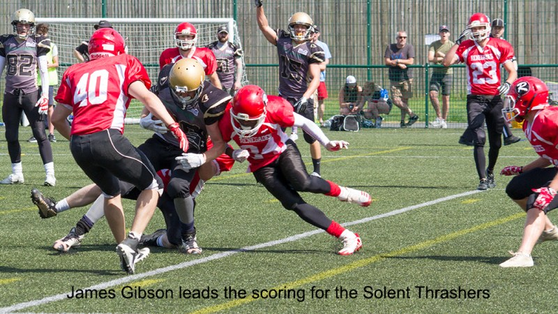 BAFA SFC 1 Central duel in the sun