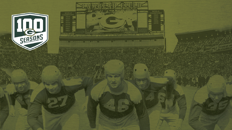 Green Bay Packers celebrate 100 years of football