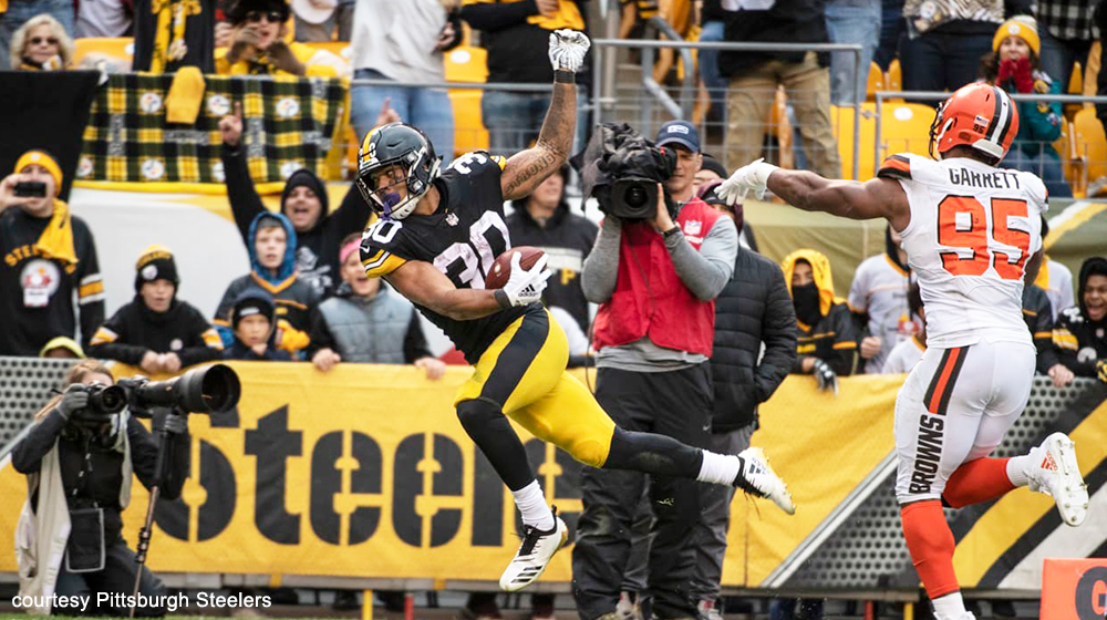 James Conner brings sunshine to Pittsburgh