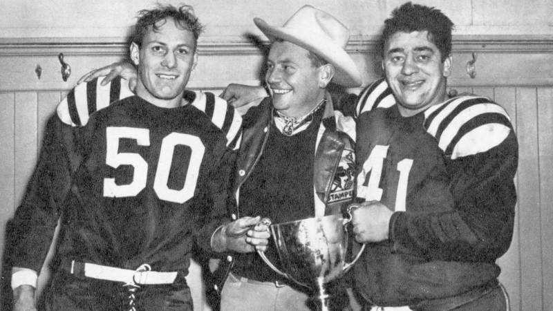 You always remember your first time: the 1948 Grey Cup