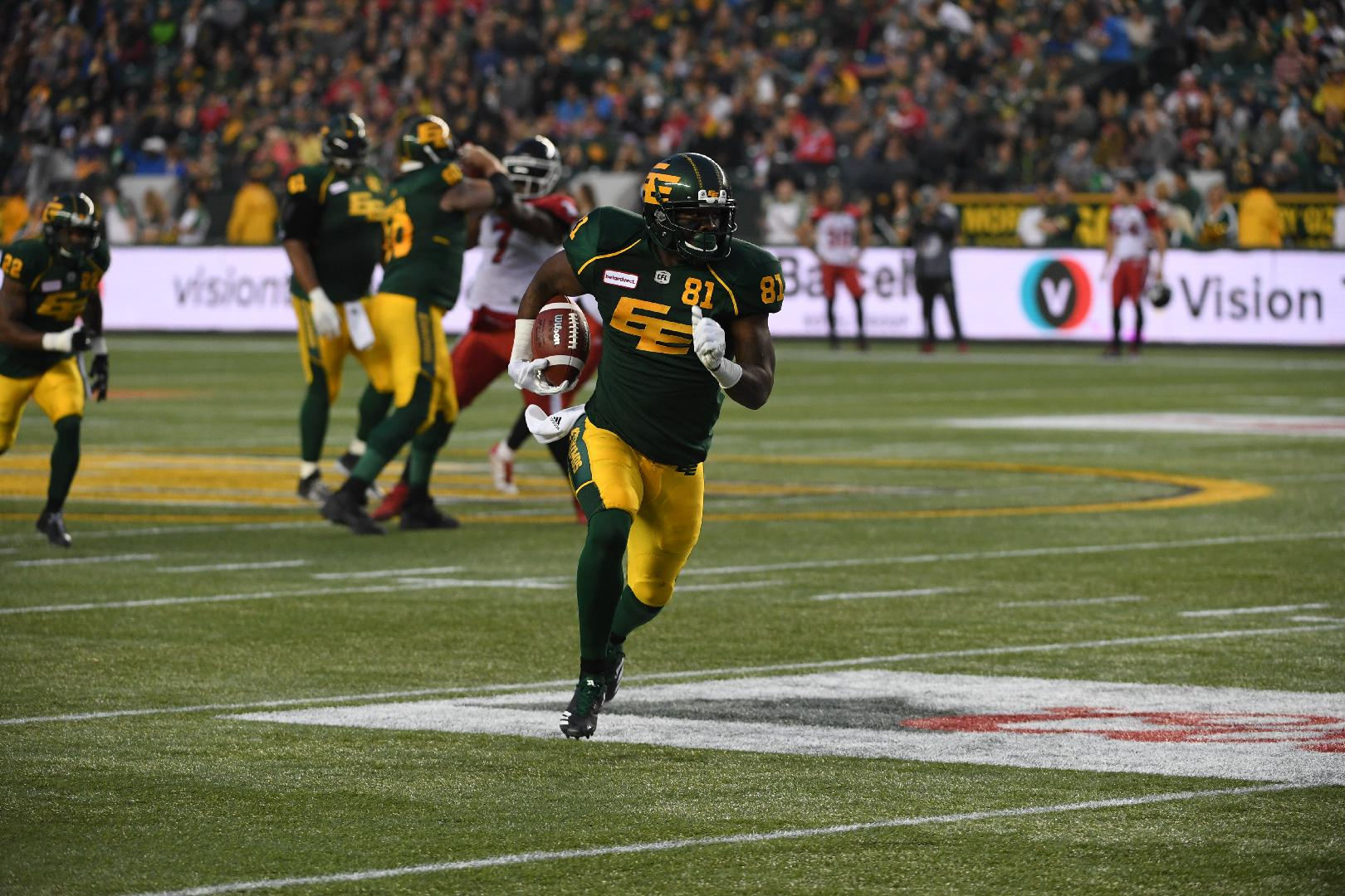 Receiving the benefits: Where Mike Reilly lands matters to the wide-outs.