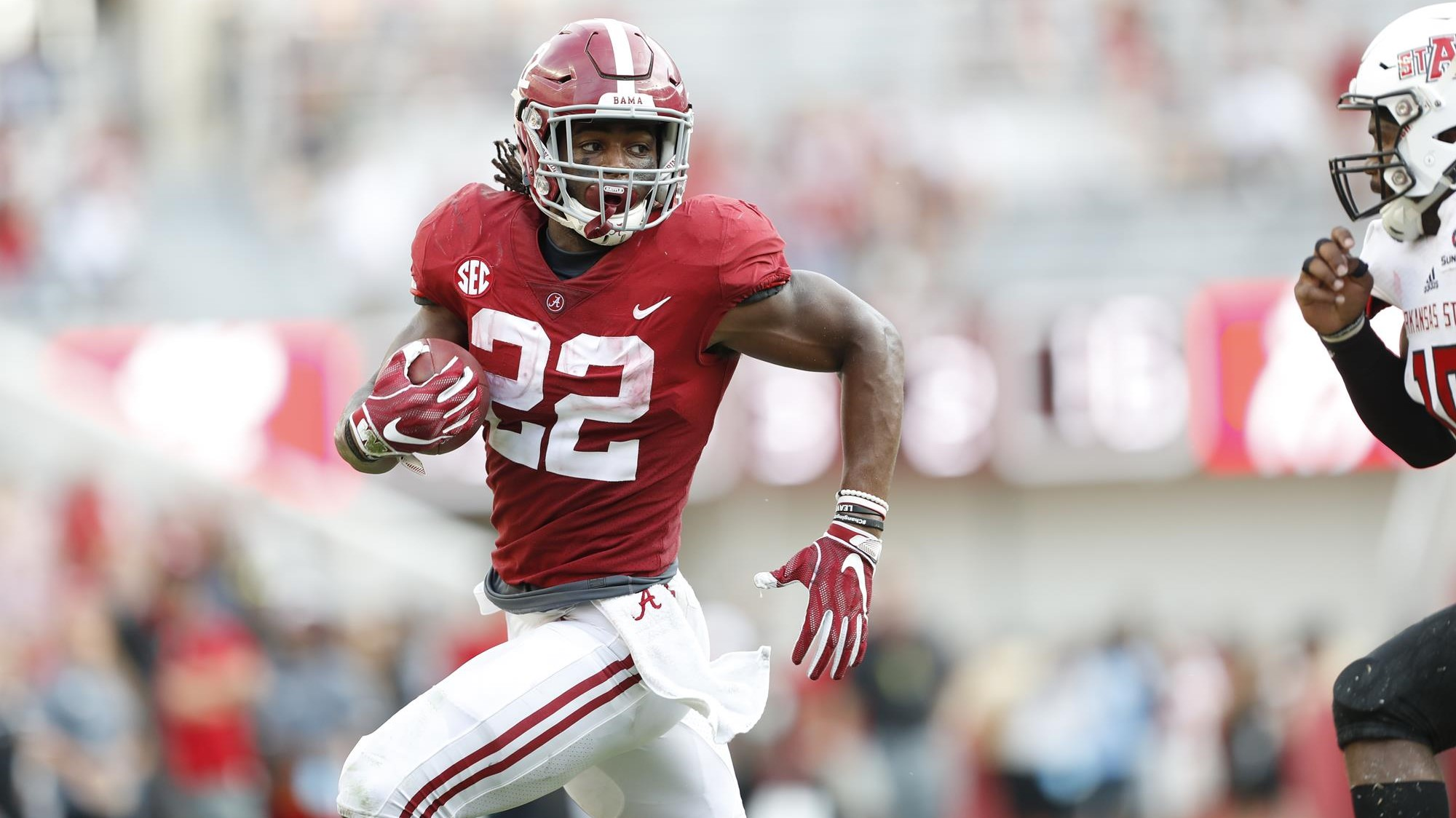 Najee Harris: Emerging From The Shadows