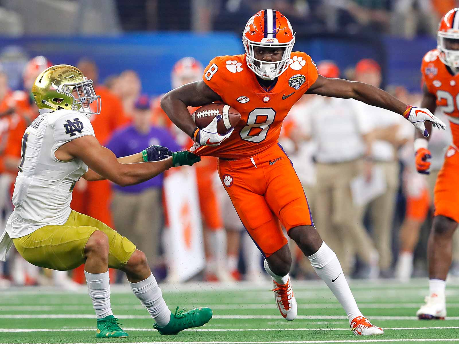 Justyn Ross: More Than Just Another Weapon
