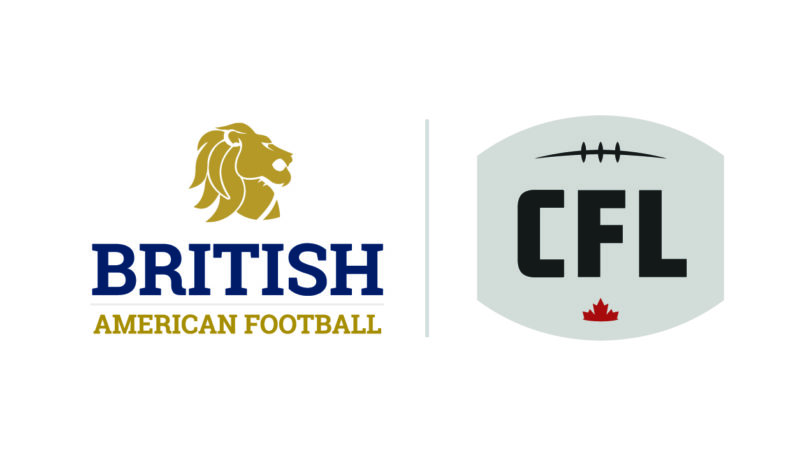 CFL Agrees Partnership with British American Football Association