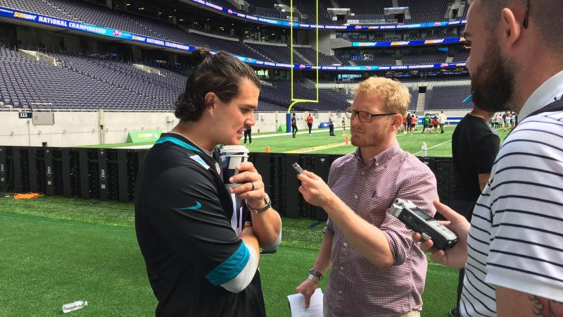 Josh Lambo on dealing with pressure and the kicking community