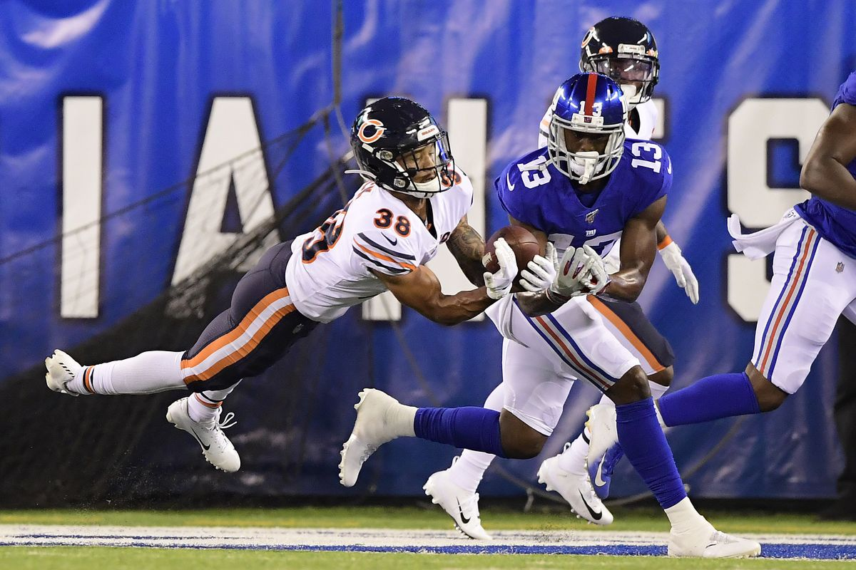 Bears slain by the Giants in Preseason Week 2 by Jamie Farrin
