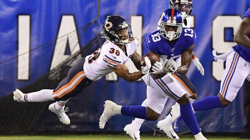Bears slain by the Giants in Preseason Week 2 by Jamie Farrin