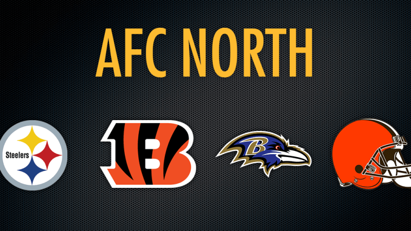 AFC North team logos