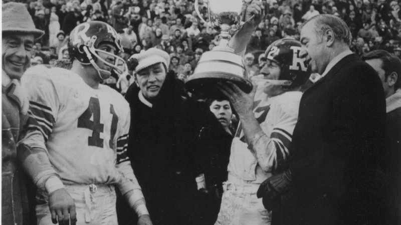 GREY CUP HISTORY: 50 YEARS AGO
