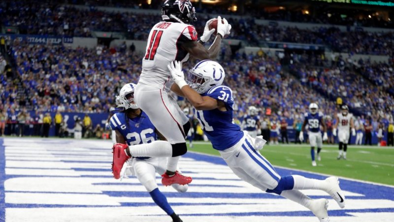 Falcons Offence Hits Form But Defence Can't Keep Up
