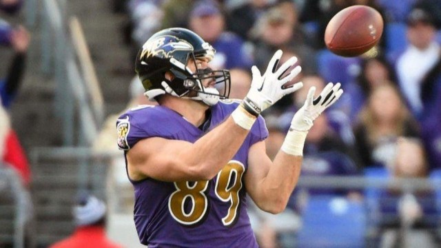 Mark Andrews in action during Week 1 of the 2019 NFL season.