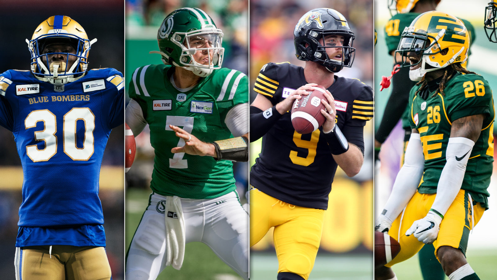 The CFL Final Four is Set