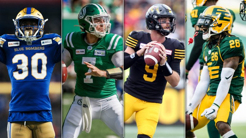The CFL Division Finals are here