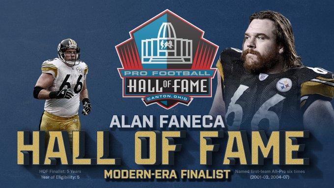Alan Faneca Hall of Fame