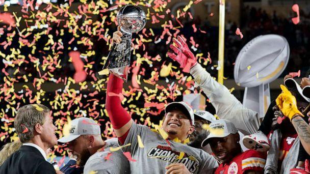 Superbowl 54 reaction by Kansas City Chiefs fan Owen Widdowson