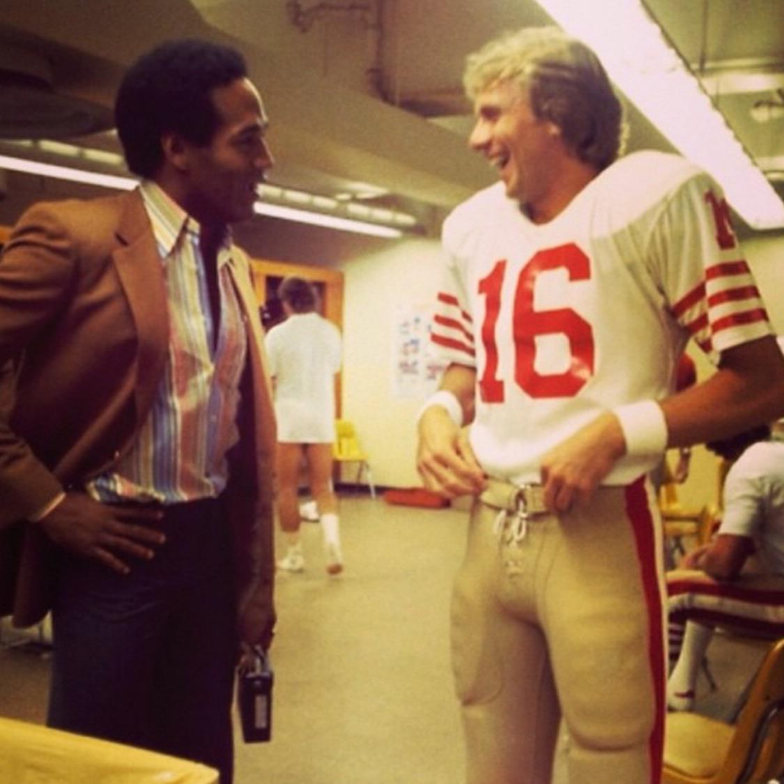 Joe Montana, O.J. Simpson, and the 1979 San Francisco 49ers