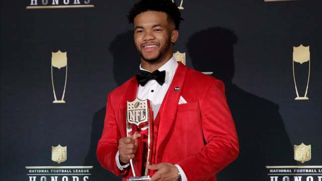 Kyler Murray at the NFL Awards in 2019