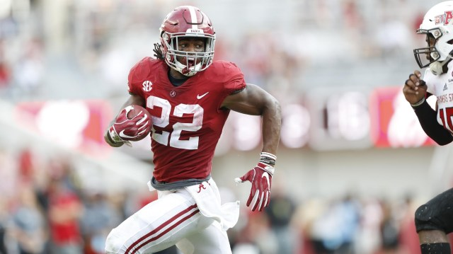 Najee harris is included in our future stars in week 7