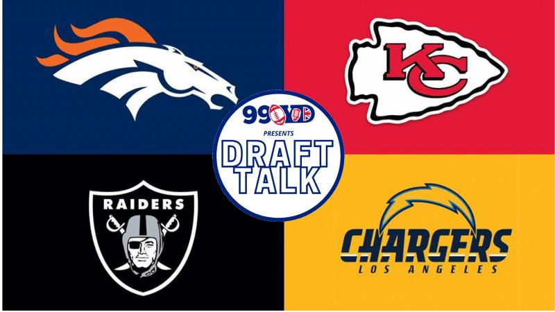 NFL Draft: AFC West Team Grades