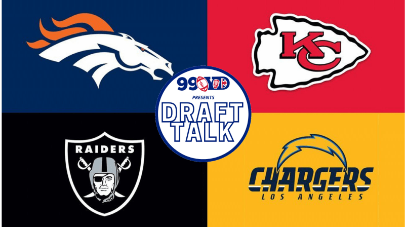 NFL Draft: AFC West Team Grades