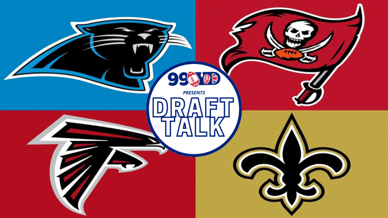 NFL DRAFT: NFC South Team Grades