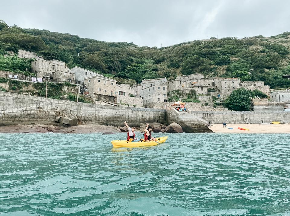 芹壁海上獨木舟