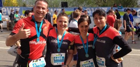 Zurich Marathon Teamrun Cityrun 2015, Switzerland