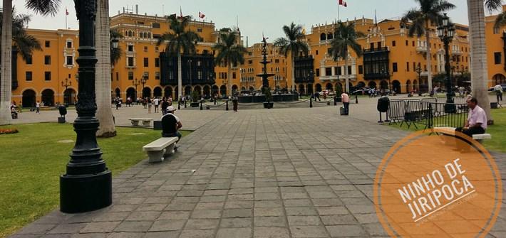 Centro Historico de Lima Plaza Mayor