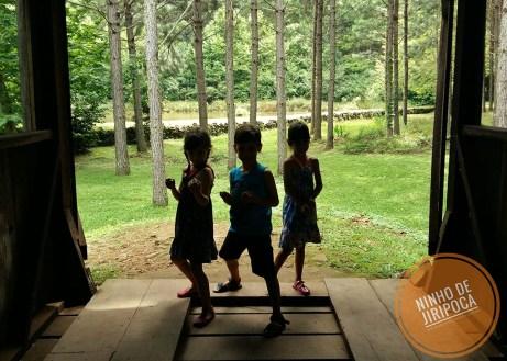 Castelinho Caracol em Canela com crianças