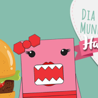 Dia do Hambúrguer. Vai um aí?