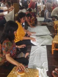 Workshop Membuat Kain Sibori Sendiri