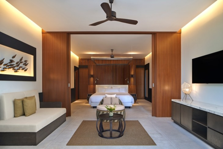 The Westin Maldives Island Suite Pool Interior