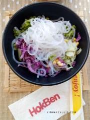 salad sayur hokben