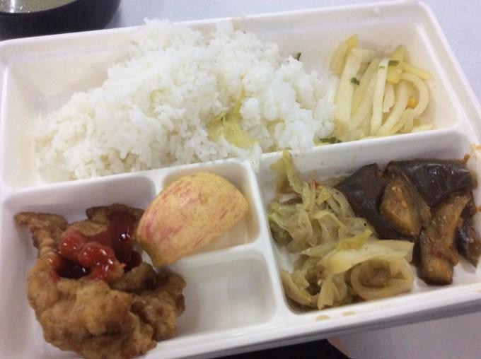 サウスピークの食事(昼食)