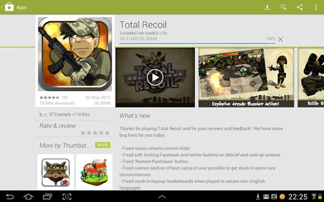 Total Recoil on Google Play! • Ninja Beaver Design - Graphic