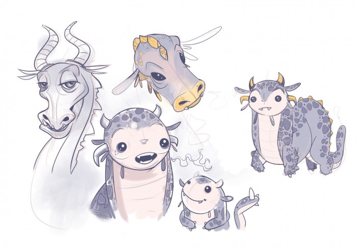 I Dream of Dragons sketch