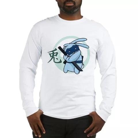 Ninja Beaver Long Sleeve T Shirt image