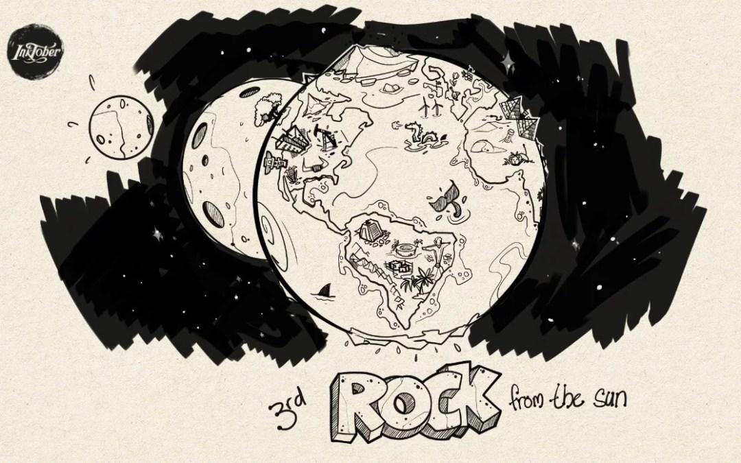Inktober – Rock