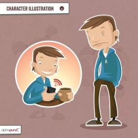 NinjaBeaver Slide Design QU Characters 002