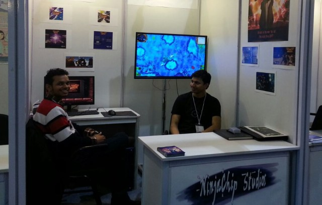 Ninja Chip Studios at the CII India Gaming Show