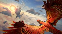 How We Soar, an upcoming VR game, uses a papercraft look to fit its whimsical mood.