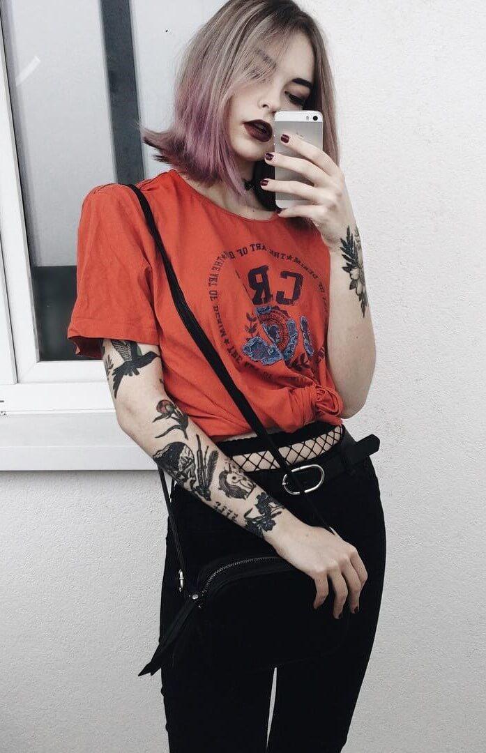 38 Street Style Grunge Looks To Wear Right Now Ninja Cosmico