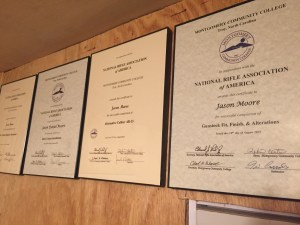 Gunsmithing certifications