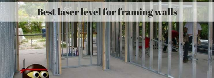 How to use a laser level for framing | 2018 | Ninja Level Tips