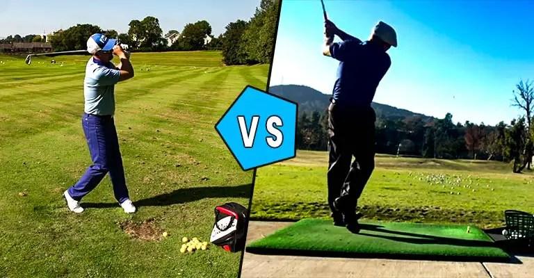 Golf Arm Swing vs Body Swing